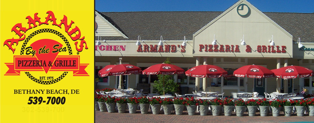 Image result for armand's pizza bethany